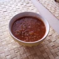 Zupa z soczewicy z ziołami