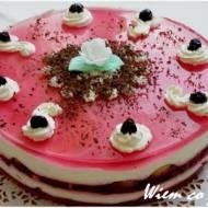 Tort jogurtowo-wiśniowy