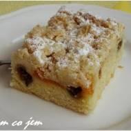 Ciasto owocowe z kruszonką
