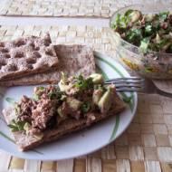 Pasta z awokado i tuńczyka