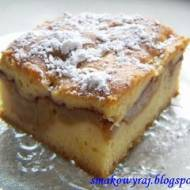 Apfelkuche, czyli orzeźwiający i delikatny niemiecki jabłecznik :)