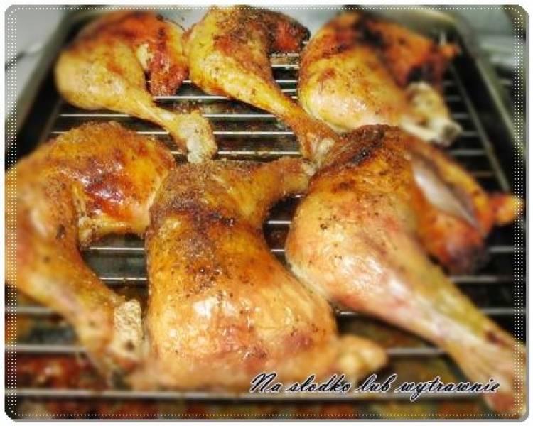 Przepis Na Kurczak Pieczony Na Ruszcie W Piekarniku Na Slodko Lub