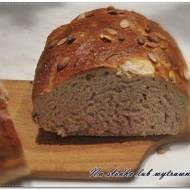 Pszenno - orkiszowy chleb na maślance z otrębami pszennymi