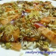Dietetyczny łosoś na sposób azjatycki