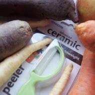 Ceramiczna Obieraczka Pionowa i najlepszy sok warzywny, czyli testowanie