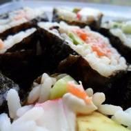 Domowe sushi.