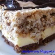 Princepolek, czyli ciasto z Prince Polo, migdałów, orzechów i kokosu :)