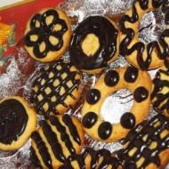 Ciasteczka Maślane z pomarańczową nutą.