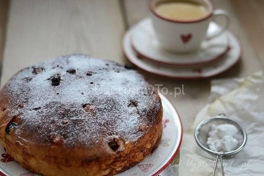 Włoskie ciasto drożdżowe Panettone