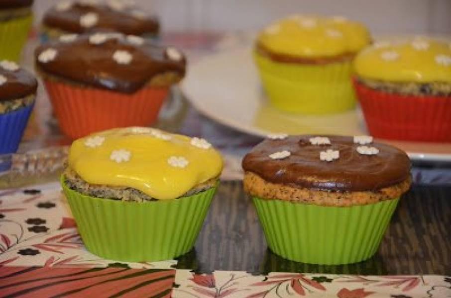 Muffinki cytrynowo-makowe