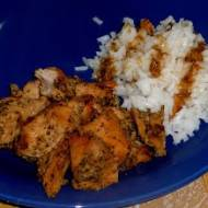 Kurczak w majeranku na słodko