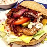 Hamburgery drobiowe pełnoziarniste
