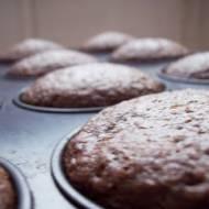 Kakaowe muffinki bez jajek