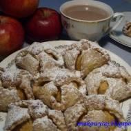 Biret, czyli kruche ciasteczka – koperty z jabłkami