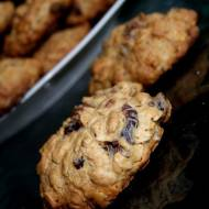 Ciasteczka z bakaliami w pełni owsiane:)