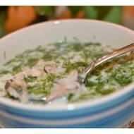 C - Biały dym - biała zupa:)