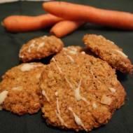 Ciastka marchewkowe z płatkami owsianymi