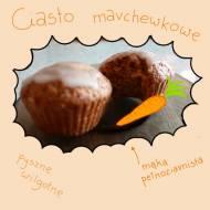 Ciasto/babeczki marchewkowe (ok. 231 kcal/100g)