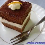 Wuzetka czy Tiramisu? czyli ciasto marchewkowe z pomarańczowo – śmietankowym wnętrzem, na styl amerykański. American Carrot Tira