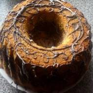 Wielkanocna babka waniliowo-kakaowo-malinowo-makowa ;)