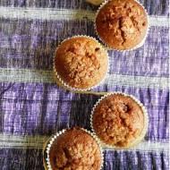 Muffiny kokosowe z wiśniami