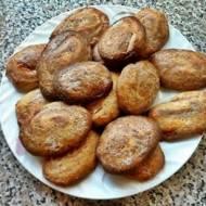Ślimaczki waniliowo-kakaowe z kruchego ciasta.