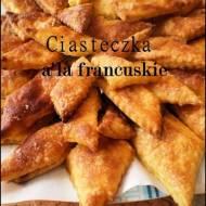 Ciasteczka a'la francuskie