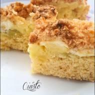 Ciasto rabarbarowo - jabłkowe