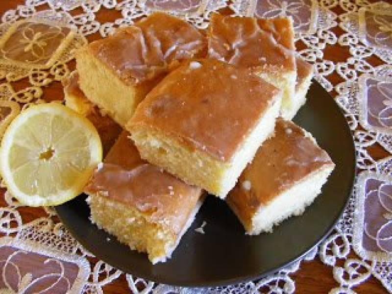 Ciasto cytrynowe.