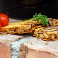 Quesadillas z chili i kurczakiem