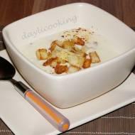 Zupa serowa po studencku