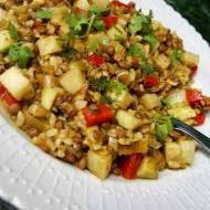 Soczewica z ryżem i kalarepką - nietypowo, ale smakowicie:)