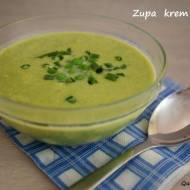 Zupa krem z groszku.Redukcja cholesterolu. Danie fit.