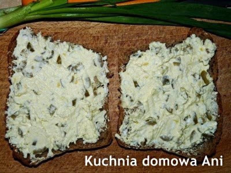 Pasta z mascarpone i oliwkami