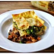 Trójwarstwowa lasagne.