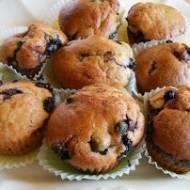 Muffiny z Czarnymi Porzeczkami
