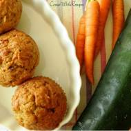 Muffiny cukiniowo-marchwiowe