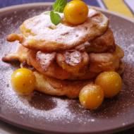 Śniadaniowe placuszki z mirabelką