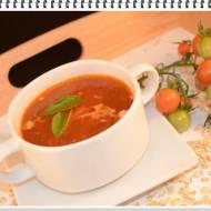 C - Zdrowa Pomidorowa - czyli zupa pomidorowa z płatkami owsianymi