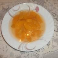 Zupa brzoskwiniowa.