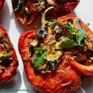 Papryka faszerowana warzywami