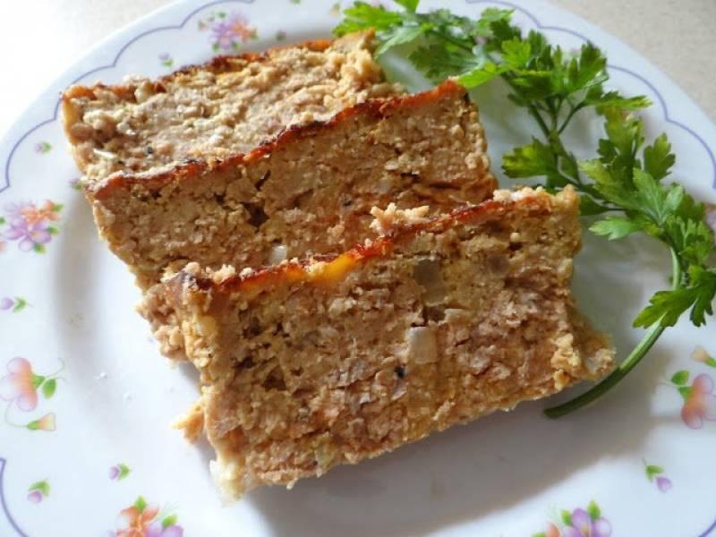 Pieczeń z mięsa mielonego na ostro
