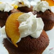 Muffinki czekoladowo – śliwkowe
