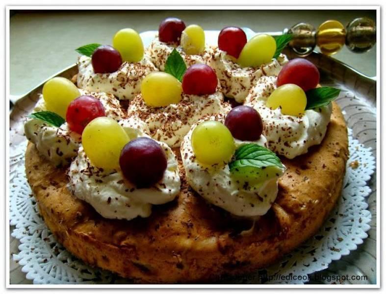 Jesienne ciasto owocowe.