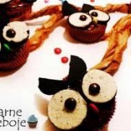 Babeczki sowy – muffiny sowy
