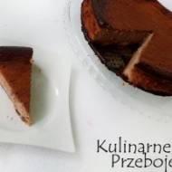 Sernik czekoladowy na biszkoptach