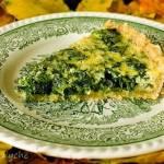 Tarta ze szpinakiem i serem gruyère