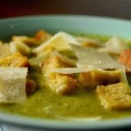 Szybka zupa krem z brokułów
