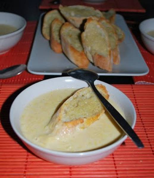 Zupa krem z kukurydzy na ostro
