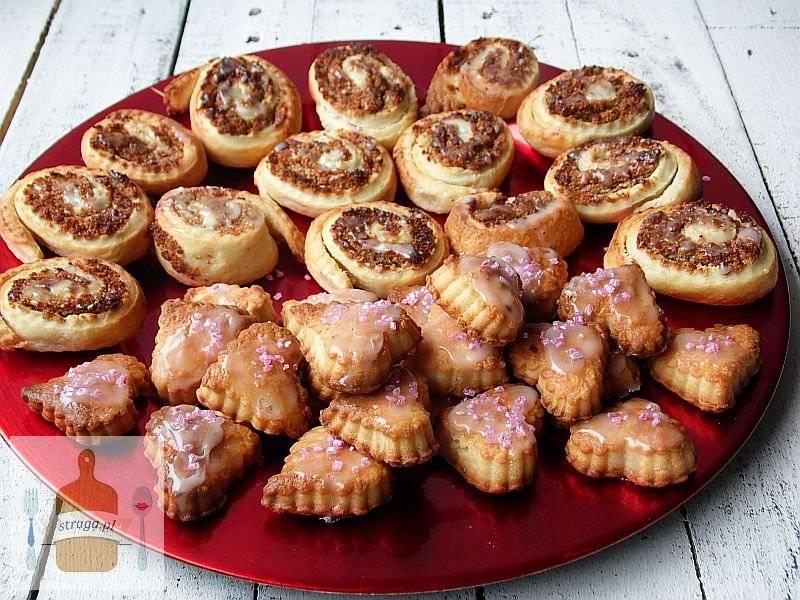 Serowe kruche ciasteczka